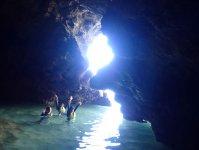 神秘の洞窟探検 (※青の洞窟とは別ポイント)