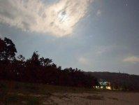 晴れた夜にはきれいな星空を眺めることができます!
