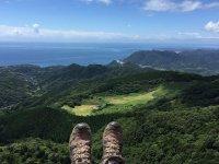 タンデムフライトでは、美しい伊豆の海岸線を楽しめます!