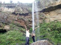 55mの大迫力!ピナイサーラの滝に到着!