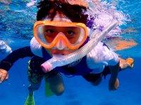 気軽に海を楽しむためにはやっぱりシュノーケリング!