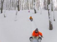雪遊びもいっぱい