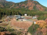 筑波連山のふもとにある見晴らしの良い立地