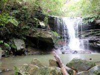 神聖な空気を放つ滝へと向かいましょう