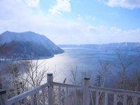 スケール満点!冬の摩周湖で絶景をひとり占めできる!