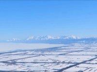 知床半島と流氷のオホーツク海を眺める絶景プランです!