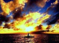 太陽のパワーを一身に浴びるサンセットコースあり!