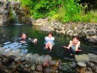 ツアー後は温かい温泉に入ろう!