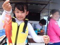 対象魚を決めない五目釣りだから、とんでもない出会いが待っているかも。
