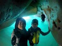 秘密の洞窟にも立ち寄ります!