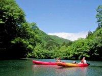 那珂川本流・板室湖でカヤックを楽しもう!