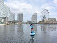 横浜のランドマークを一望できます