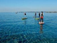 エメラルドグリーン色の美しい海
