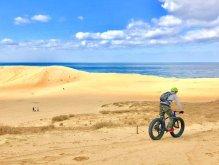 鳥取砂丘 ファットバイク