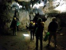 久米島 洞窟探検