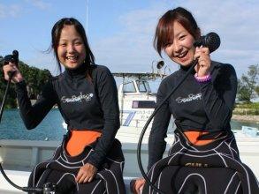 体験ダイビング・ボートツアー