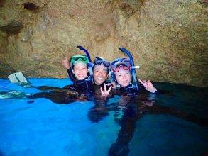 《ビーチエントリー》青の洞窟 シュノーケリング