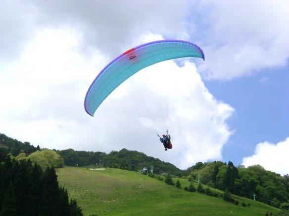 神鍋高原パラグライダー