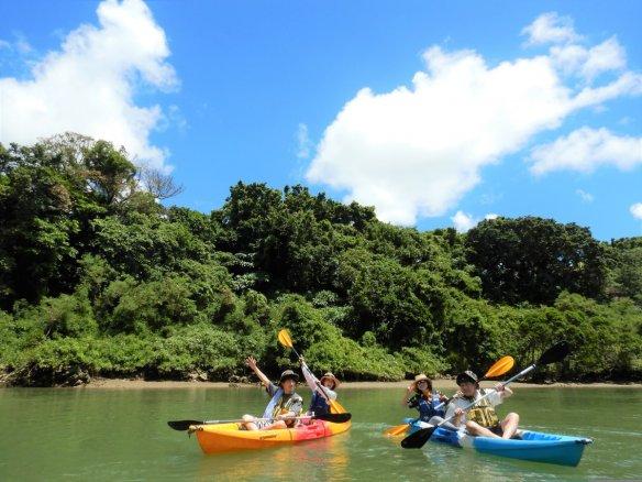 沖縄本島・比謝川 マングローブカヤック