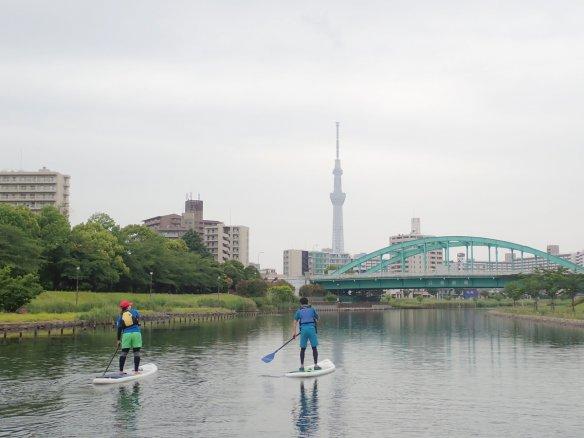 東京 リバーSUP