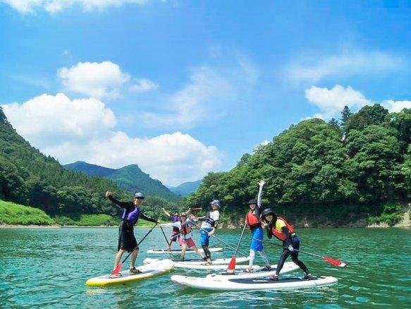 みなかみ(赤谷湖) SUP