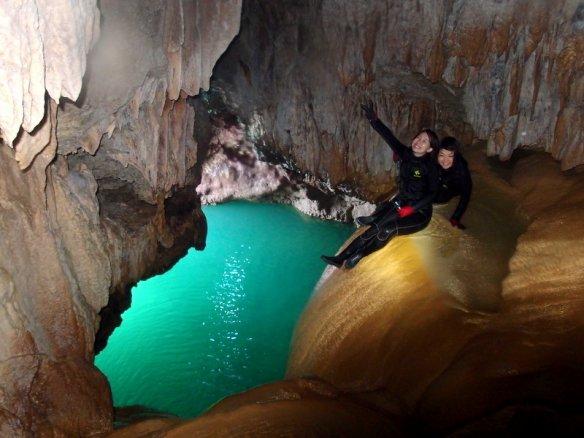 宮古島 パンプキン鍾乳洞探検