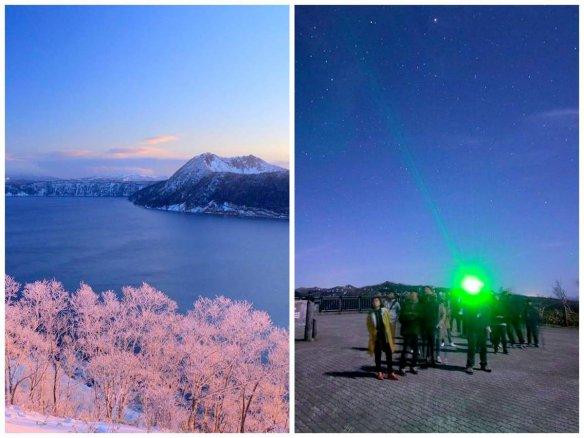 摩周湖 自然観察