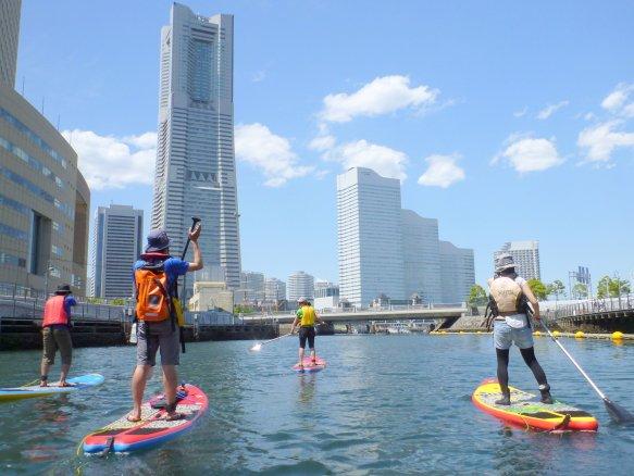 横浜Canal SUP