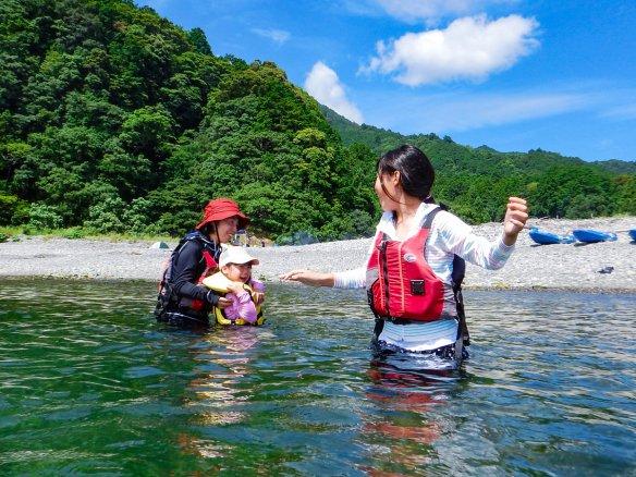 銚子川 自然観察