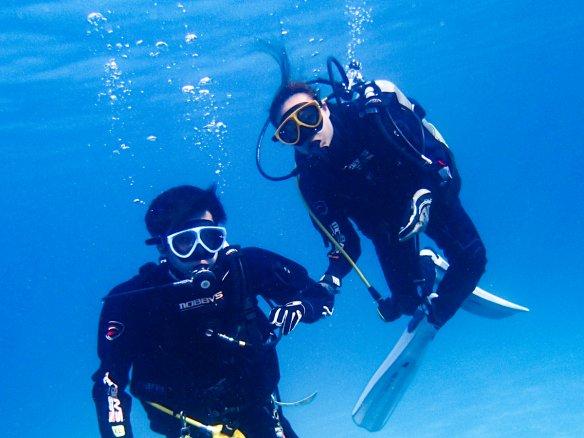 柏島 体験ダイビング