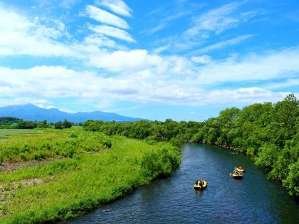 尻別川(ニセコ) ラフティング