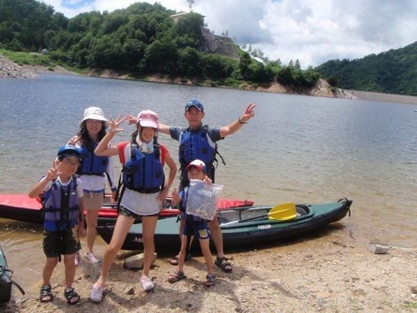 家族で大自然を満喫!!小学生〜参加いただけます。(※1日コースは4年生以上)