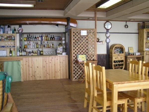ウィルダネス・パークロッヂ(集合場所)には、オーガニックフードレストランも併設!