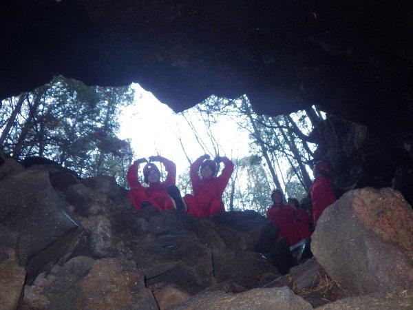 いよいよ洞窟へ