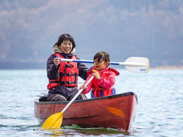 カヌー体験 半日コース