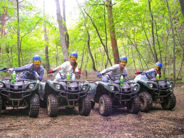 河口湖エリア ATV4輪・8輪バギー