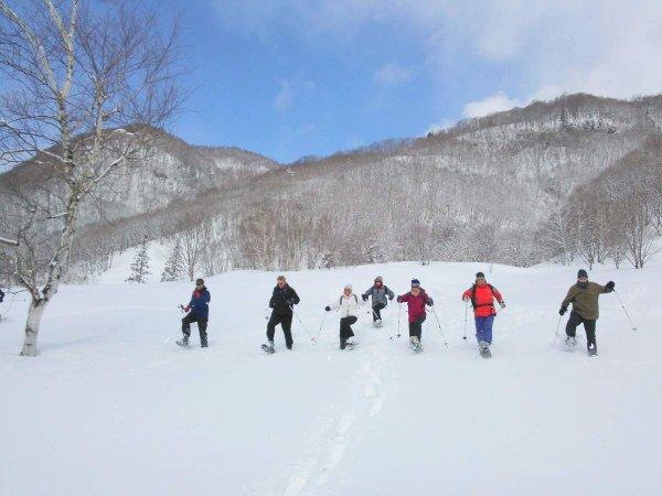 ふわふわの雪を楽しもう!