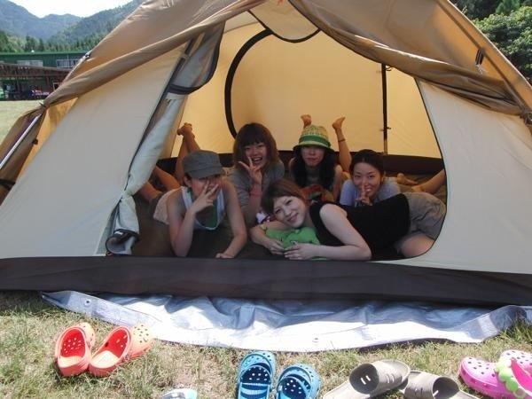 ●テント〜調理器具まで全て無料レンタル!手ぶらで楽しめる快適キャンプ場が併設!