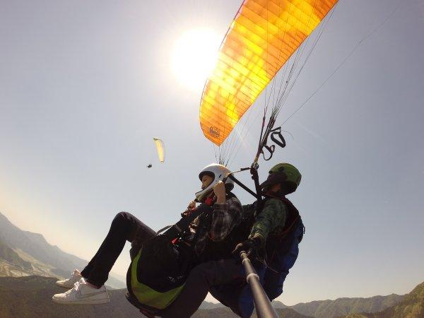 丹波(岩屋山)  パラグライダー
