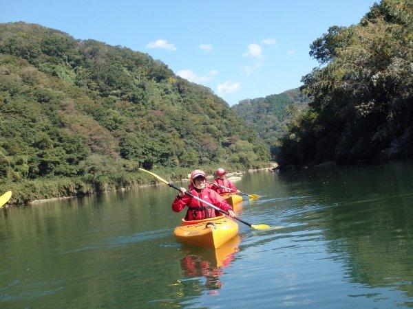 木津川 カヌー