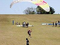 勝山パラグライダー