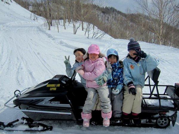 大人と2人乗りならお子様のご参加もOK!ご家族で楽しめる!