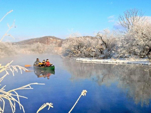 釧路湿原 カヌー