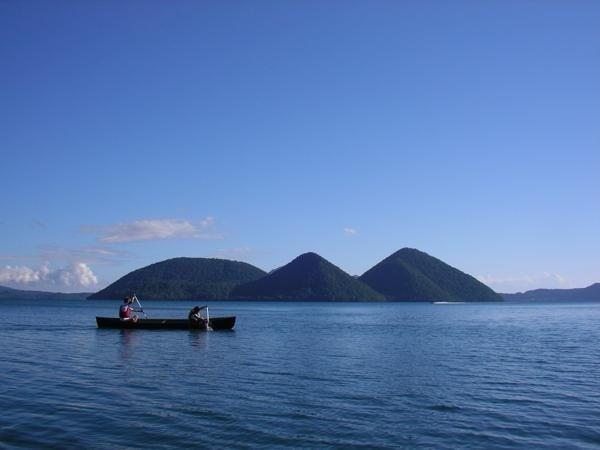 洞爺湖 カヌー