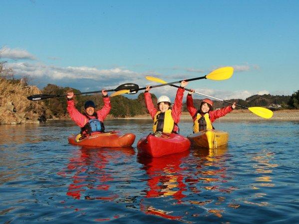 10キロの本格ダウンリバー!那珂川の自然を満喫しながら流れ下ろう!