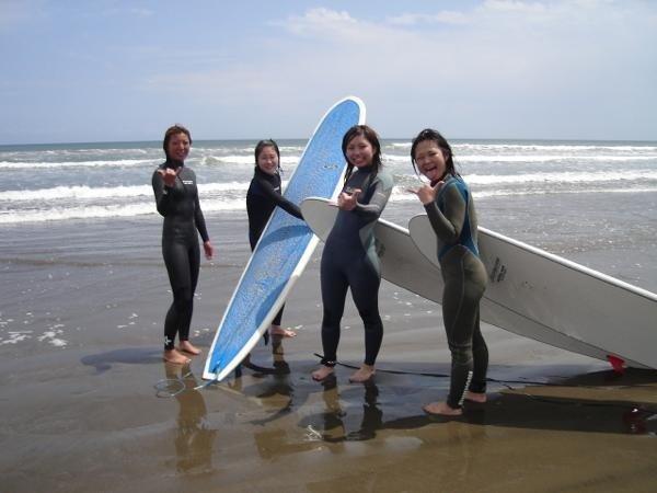 サーフィンのメッカ千葉北エリア。九十九里の開放感溢れるビーチで憧れのサーフィン初体験!!