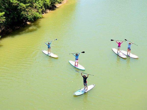楽々アクセス可能♪比謝川で、豊かな自然を堪能しよう!