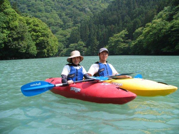 奥多摩(白丸湖) カヌー・カヤック