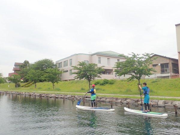 東京の真ん中でSUP体験!