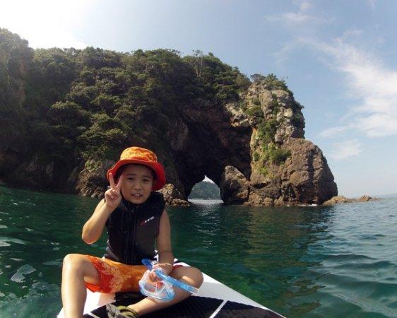 お子様も参加OK!親子で二人で海の上を探検!シュノーケリングも楽しめる。